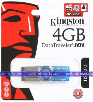 Флешки USB - USB Flash Kingston 4GB